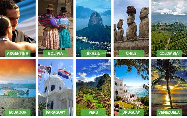 South America Tourism information - Travel to South America