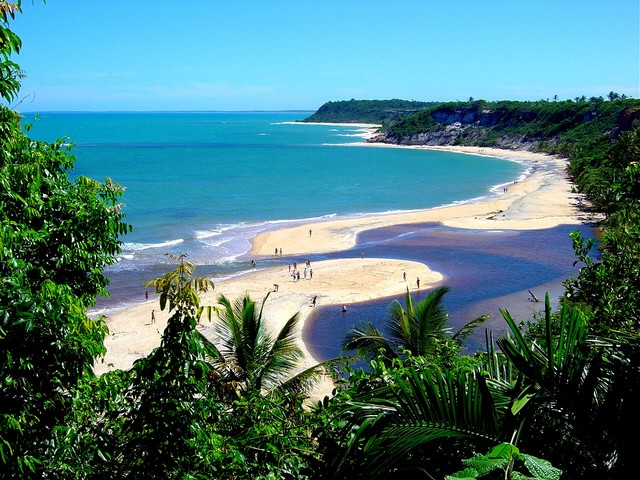 Caraiva beach Brazil